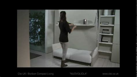 wall bed with sofa uk clei uk nuovoliola sofa wall bed unit