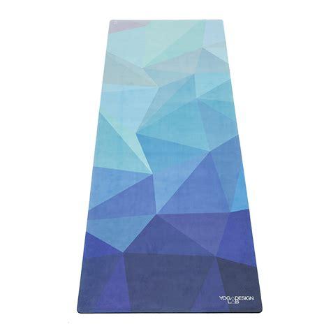 yoga design lab uk geo blue combo yoga mat yoga design lab