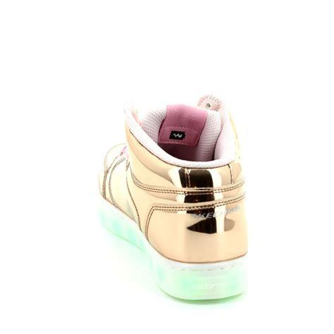 skechers energy lights rose gold skechers energy lights 10771 rsgd rose gold everyday shoes