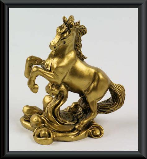 egli figuren zubehör kaufen figur pferd statue messing optik hengst mustang deko