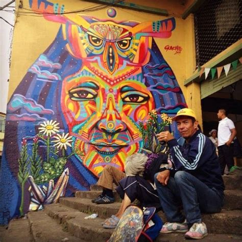colombian street art   images
