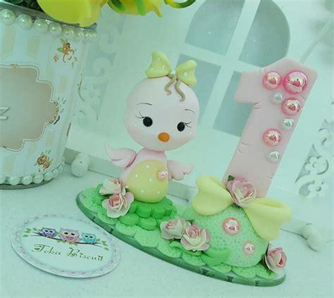 vela decorada jardim encantado velinha passarinho no elo7 teka biscuit 87f9a9