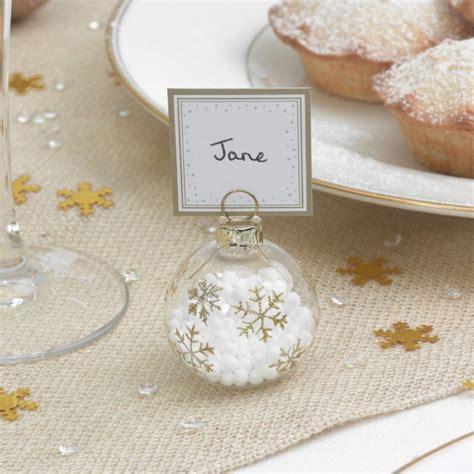 segnaposto tavolo segnaposti natalizi l idea perfetta per la tavola delle