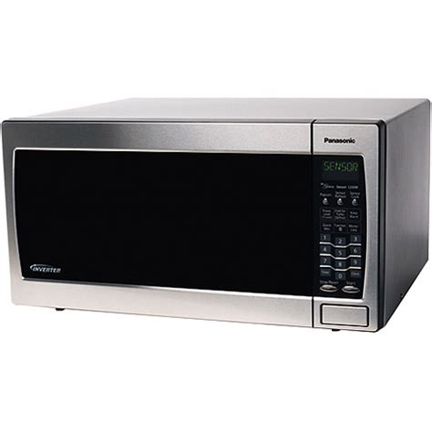 Microwave Panasonic Inverter panasonic 1 6 cubic foot stainless steel microwave oven with inverter technology walmart