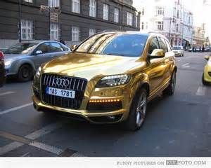 gold audi q7 picture 47478 we it