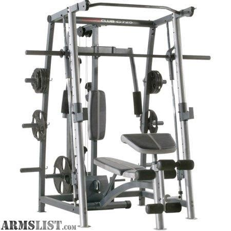 smith machine bench press for sale armslist for sale trade smith machine weights