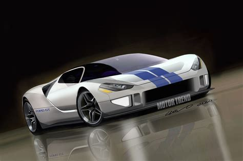 future ford future ford gt first look motor trend