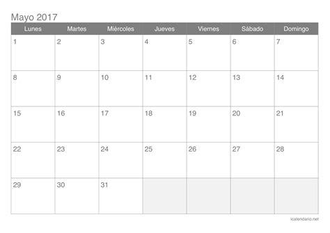 calendario febrero 2017 para imprimir icalendario net calendario mayo 2017 para imprimir icalendario net