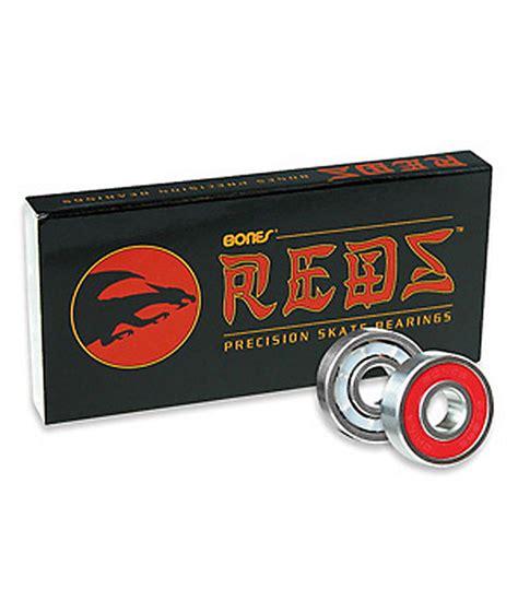 best bearings for skateboard bones reds skateboard bearings zumiez