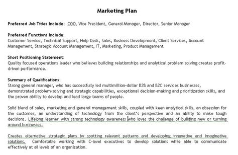 The Best Job Search Tool Ever Career Sherpa Personal Marketing Plan Template Free