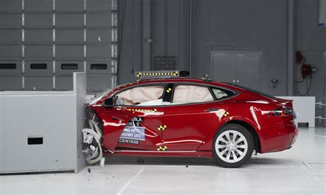 Tesla Electric Car Insurance Tesla And Bmw Fall Of Highest Crash Test Rating
