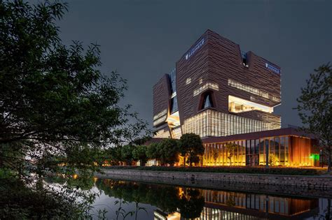 designboom university admin building at xi an jiaotong liverpool university