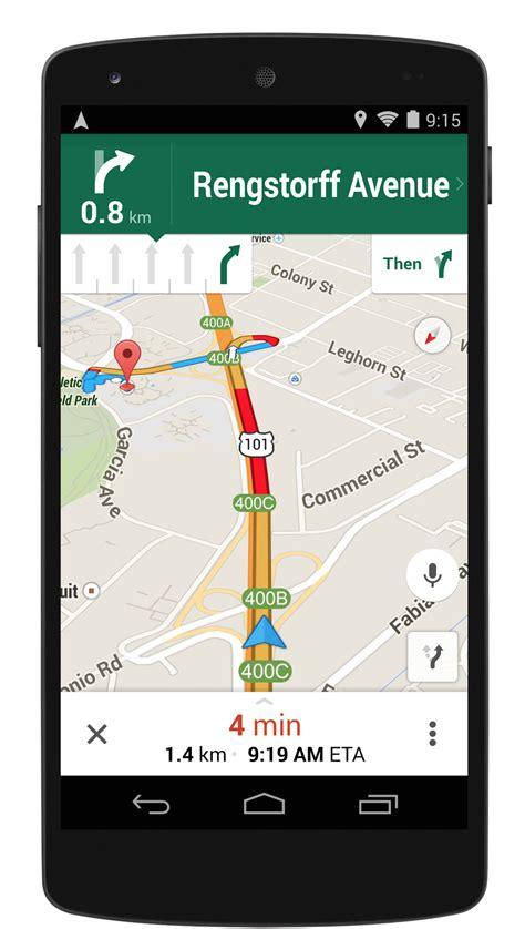 google maps mobile full version navigation updates in google maps for mobile versions 8 0