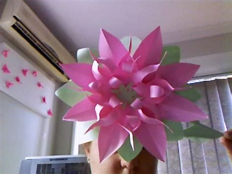 Easy Way To Make Paper Flowers - paper flower easy way