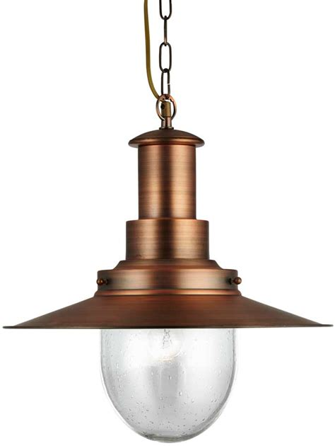 seeded glass pendant light fixtures fisherman large copper finish pendant lantern with seeded