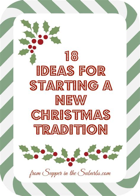 christmas is sorted now start start a new christmas tradition this christmas supper