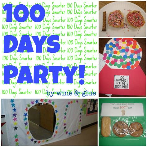 day ideas 100 day ideas wine glue