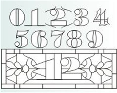 html pattern numbers and letters 1000 images about stained glass numbers letters on
