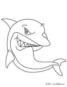 cute shark coloring pages 9320 bestofcoloring com spinner dolphin drawing google search summer c
