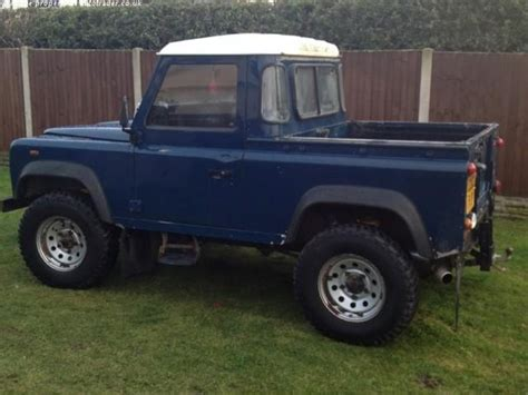land rover pickup truck land rover defender pick up td5 90 swb diesel 2002 land
