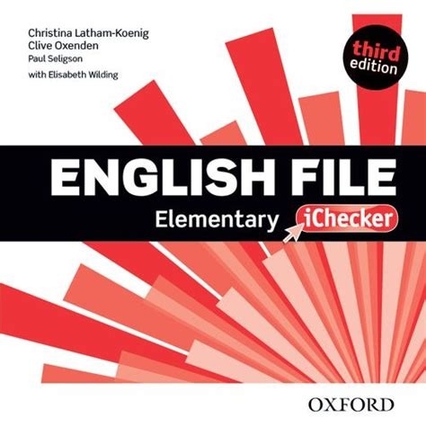 english file third edition workbook with key elementary by clive oxenden christina latham
