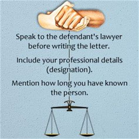 What To Say In A Character Reference Letter For Court can you write a letter to a judge after sentencing how