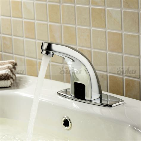 brass automatic sensor faucet auto touchless electronic