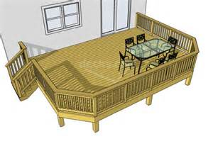 porch plans designs decks com free plans