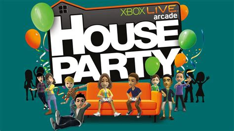 house party game xbox live arcade house party starts on february 15 brings