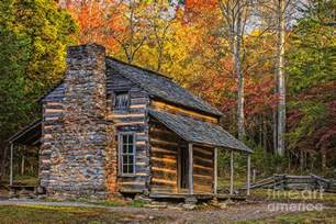oliver s cabin in great smoky mountains photograph by