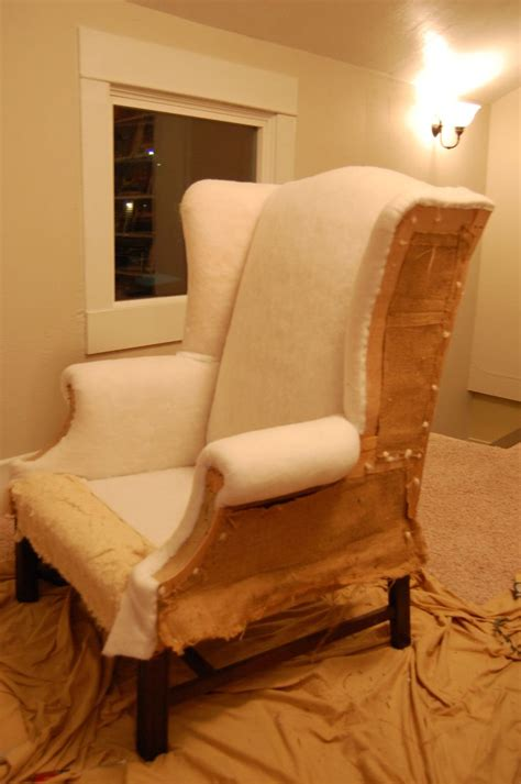 reupholstering a couch tutorial how to reupholster a wingback chair wingback chairs