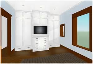 built in closet master bedroom