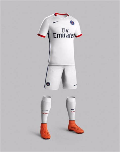 Calendrier Psg Saison 2015 Maillot Ext 233 Rieur Du Psg Saison 2015 2016 Nike