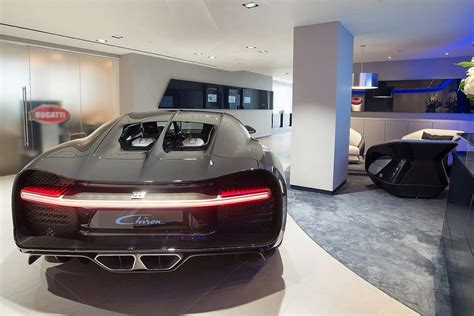 bugatti showroom bugatti opens redesigned showroom in before chiron