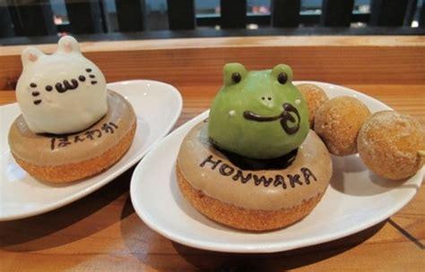 cara membuat donat jepang doubutsu doonatsu donat lezat berbentuk binatang imut