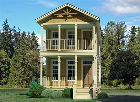 Two Story Garage Plans narrow lot homes very narrow house plans narrow lot