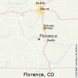florence colorado map best places to live in florence colorado