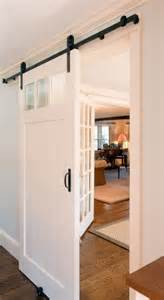 Sliding Interior Barn Door Sliding Interior Barn Door Instead Of Pocket Door Block Kitchen But Allows Light Home