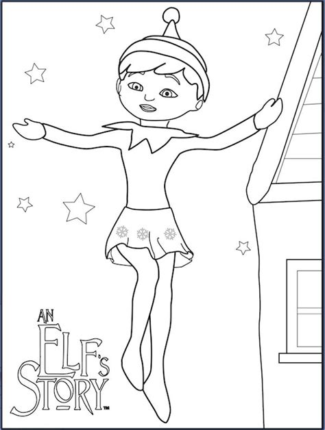 boy elf on the shelf coloring pages 15 best coloring the on the shelf images on pinterest