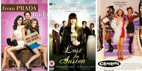 postmodern themes in film modern film adaptations of jane austen ranked huffpost