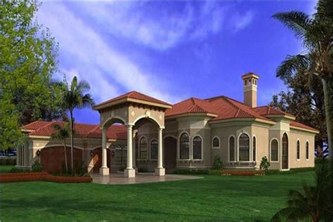 Luxury Spanish Style Homes spanish style house plans the plan collection