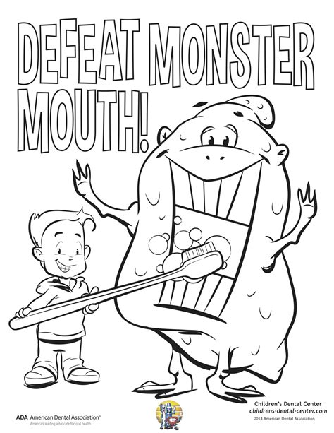dental health month stockphotos dental coloring book at