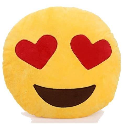 emoji diam 32cm coussin emoji 233 motic 244 nes smiley jaune coussin rond