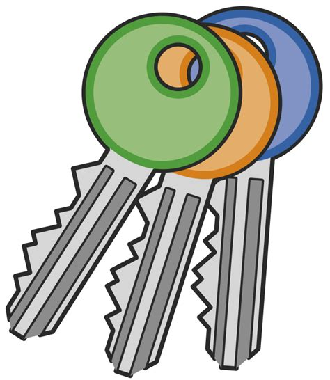 key clipart free to use domain key clip