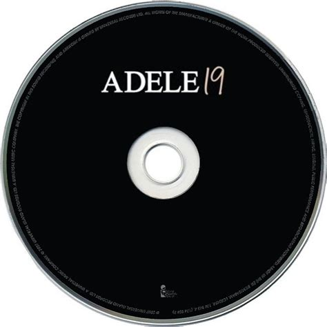 Cover Cd Copertina Cd Adele 19 Cd Cover Cd Adele 19 Cd