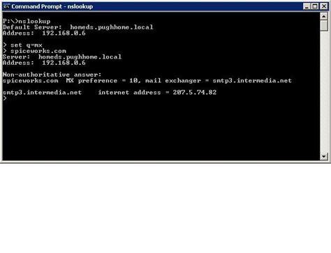 test email flow  smtp commands