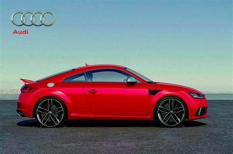 Audi Tt 8s Test by 2016 Audi Tt Rs Side Profile Tt Rs Audi Tt 8s 207641476
