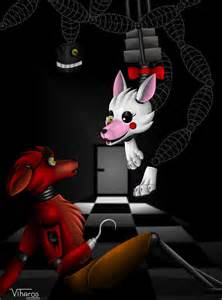 Hello pirate foxy x mangle fnaf by viharos on deviantart
