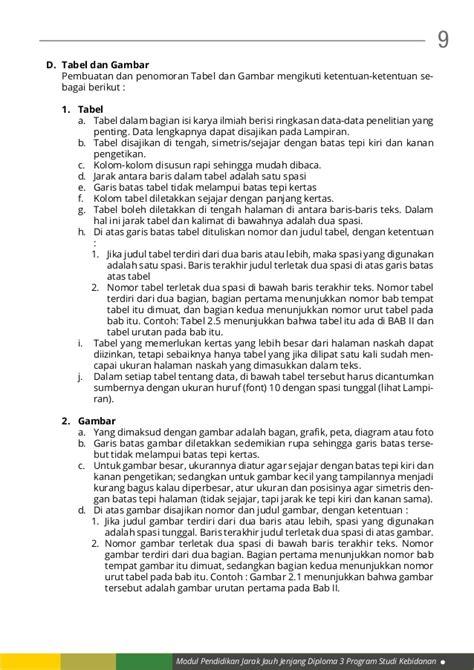 format karya tulis ilmiah kb 1 format penulisan karya tulis ilmiah