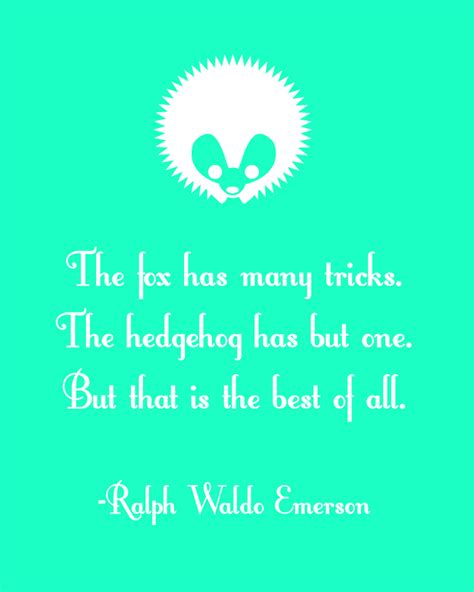 printable ralph waldo emerson quotes hedgehog quotes quotesgram